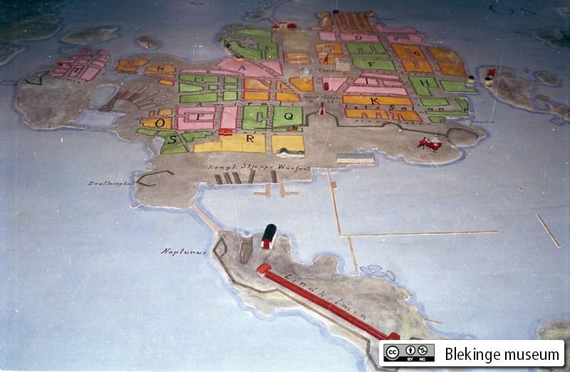 Ekonomisk Karta Blekinge.En Tidsresa I Ostra Blekinge Kartlaggning Kulturlandskapetblekinge